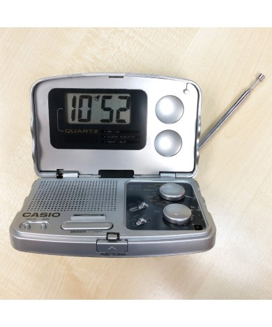 2-in-1 Travel Clock Radio - RT-10EXH