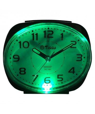 BLINKING LIGHT ALARM CLOCK - TAC-065-BK