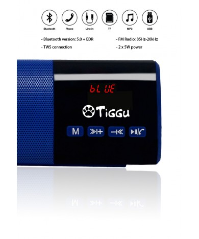 Portable Bluetooth Speaker Bar - TSP-01-BU