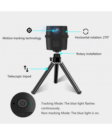 Intelligent Motion Tracking Webcam