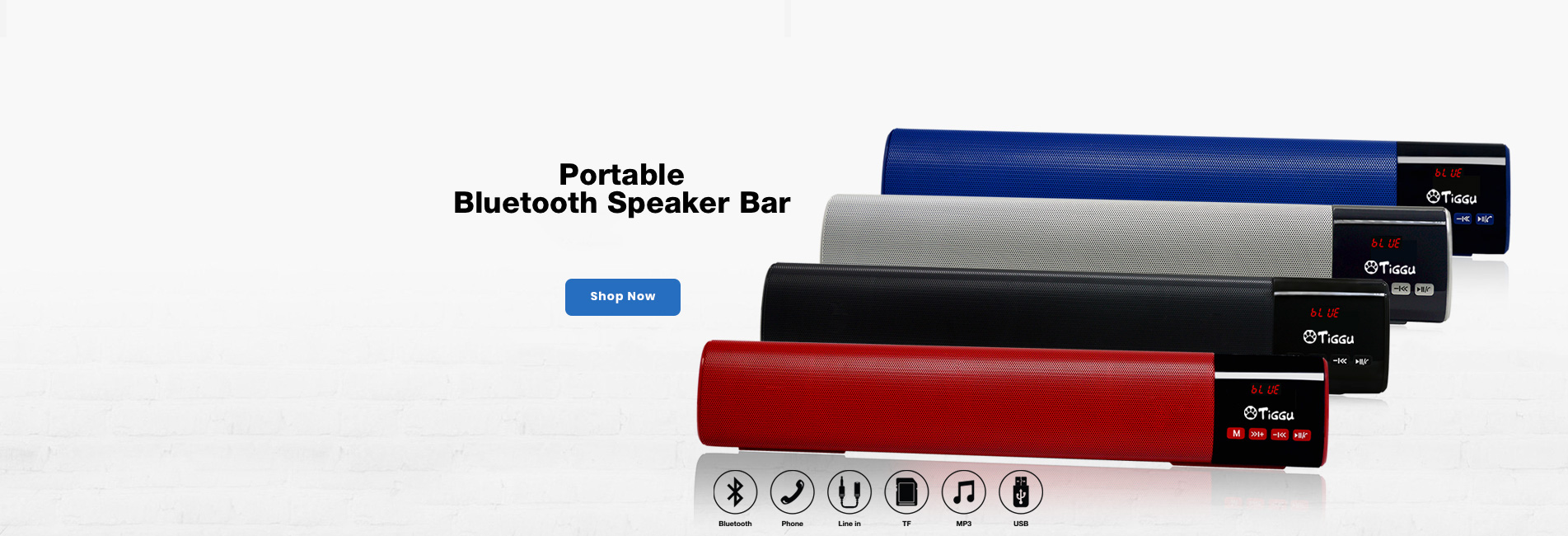 Portable Bluetooth Speaker Bar - TSP-01